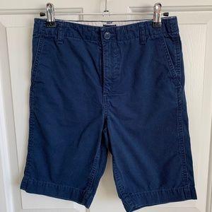Gap Kids Boys Chino Shorts - Navy - Size 12